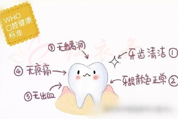 口腔健康管理的标准是什么?
