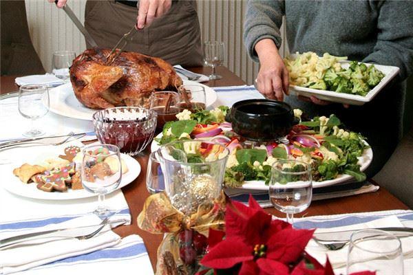 圣诞节吃什么传统食物?8个人的丰盛晚餐