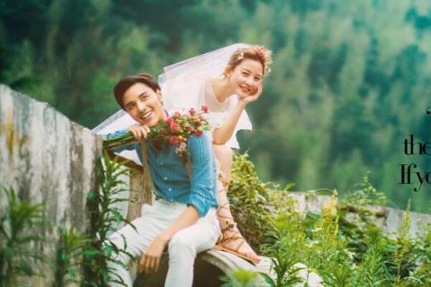 哪张结婚照在深圳七娘山拍得美?