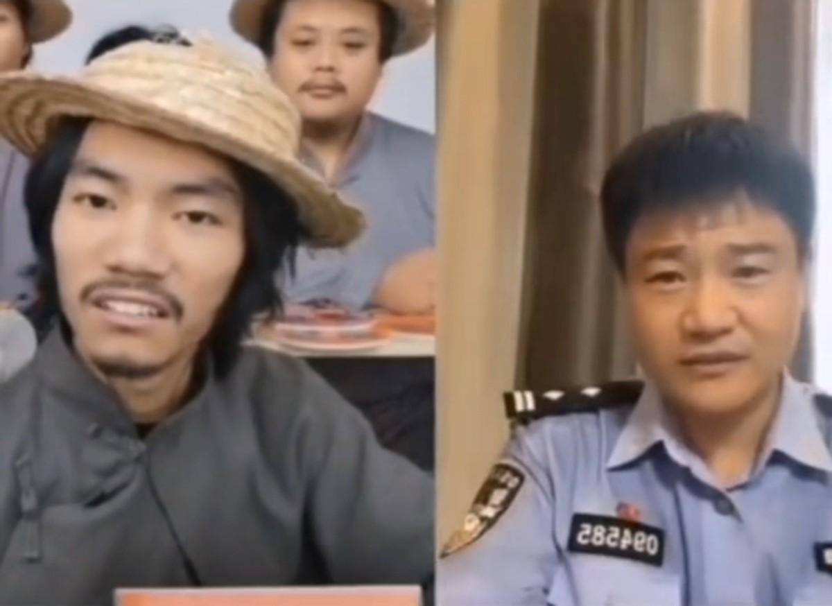 河北一反诈民警坐拥350万粉丝,搞笑主播连麦主动交代:哥我没犯事